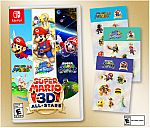 Super Mario 3D All-Stars Physical Game + Sticker Set (Nintendo Switch) $60 (Pre-order)