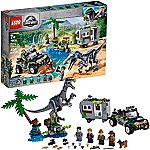 LEGO Jurassic World Baryonyx Face Off: The Treasure Hunt 75935 Building Kit (434 Pieces) $36