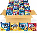 56- Count Nabisco OREO Cookie Snacks Variety Pack $12.24