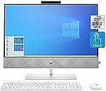 "HP Pavilion 27"" FHD All-in-One Desktop (i7-10700T 16GB 1TB SSD 27-d0080) $1250"