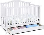Graco Solano 4-in-1 Convertible Crib with Drawer $159.41