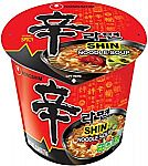 6-Pack Nongshim Shin Cup Noodle Soup (Gourmet Spicy) $5.75
