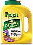 Preen 2164116 283908 Garden Weed Preventer + Plant Food, 5.625 lb $4.75 (Org $16)