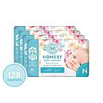 128-Ct Honest Company Diapers with TrueAbsorb Technology (New Born) $22.35 & More
