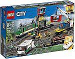 LEGO City Cargo Train 60198 Remote Control Train Building Set $181.21