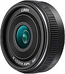 PANASONIC LUMIX G II Lens (14mm, F2.5 ASPH) $148
