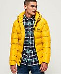 Superdry Mens Echo Quilt Puffer Jacket $38 (72% Off) & More + Free Shipping