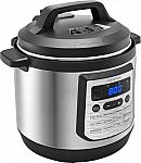 Insignia 8qt Digital Multi Cooker Stainless Steel $37.99