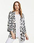 Ann Taylor - Floral Kimono $7.59 (Org $69.50) & More