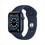 Apple Watch Series 6 (GPS 44mm) $375