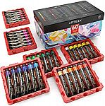 ARTEZA Art Supply Sale: 60-Count Acrylic Paint Set $31 (48% Off) & More