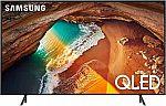 """Samsung QN75Q60RAFXZA Flat 75"""" QLED 4K Q60 Series (2019) Ultra HD Smart TV $1199"""