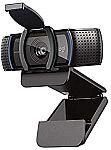 Logitech C920S HD Pro Webcam with Privacy Shutter $59.99
