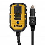 DEWALT 140-Watt Power Inverter with Dual USB Ports $24.88
