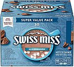 30-Count Swiss Miss Marshmallow Hot Cocoa Mix $3.50