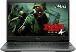 "Dell G5 15.6"" 144Hz Gaming Laptop (Ryzen 7-4800H 8GB, 512GB) $849.99"