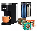 Keurig K-Slim Coffee Maker $69, 2-pack Contigo Travel Mugs $20, and more