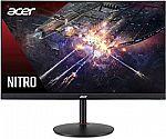 "Acer Nitro XV272U 27"" WQHD (2560 x 1440) 1ms 144Hz IPS Monitor with AMD Radeon FreeSync $299.99"