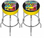 2-Count Arcade1Up Pac-Man Adjustable Height Arcade Stool $86.70 (Org $150)