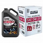 10-Qt Kirkland Signature Full Synthetic Motor Oil $25 (Today Only)
