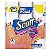 8 x 12 pack Scott ComfortPlus Toilet Paper Big Rolls $24