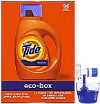 105-oz Tide Liquid Laundry Detergent Eco-Box (Original Scent) $13.50
