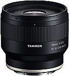 Tamron 35mm f/2.8 Di III OSD M1:2 Lens for Sony Full Frame/APS-C E-Mount $199