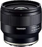 Tamron 24mm or 35mm f/2.8 Di III OSD M 1:2 Lens for Sony E $199