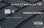 Bank of America® Premium Rewards® Visa® credit card