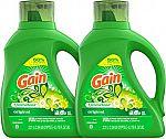 2-Count 75-Oz Gain Liquid Laundry Detergent Plus Aroma Boost (Original) $11