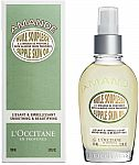 L'Occitane  Almond Supple Skin Oil $25 (50% Off) & More