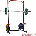 Sunny Health & Fitness Power Zone Squat Stand Rack Power Cage $180 and more