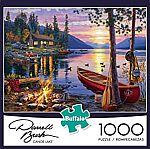 1,000-Piece Buffalo Games Jigsaw Puzzles $9.97
