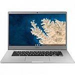 """Samsung Chromebook 4 15.6"""" FHD Laptop (N4000 4GB 32GB XE350XBA-K01US) $277.73"""