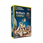National Geographic Da Vinci's Inventions Catapult $5