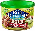 6 Oz Blue Diamond Almonds Spicy Dill Pickle $2.13