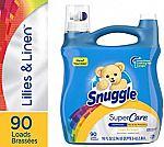 2-Ct 95 Oz Snuggle SuperCare Liquid Fabric Softener $11
