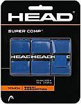 3-pack HEAD Super Comp Racquet Overgrip - Tennis Racket Grip Tape $3.69