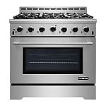 "NXR Stainless Steel Gas Range Sale: 30"" with Range Hood $1698, 36"" $1999, 48"" $3499"