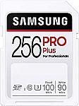 SAMSUNG PRO Plus SDXC Full Size SD Card 256GB $26