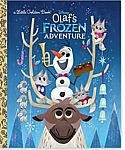 Disney's Frozen: Olaf's Frozen Adventure Hardcover Book $2.49 and more