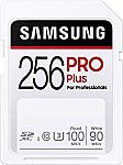 256GB SAMSUNG PRO Plus SDXC Full Size SD Card $26