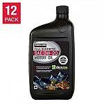 12-Pack 1-QT Kirkland Full Synthetic Motor Oil (0W20 / 5W30 / 5W30) $21 + Free Shipping