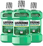 1-L Listerine Antiseptic Mouthwash (Freshburst) (3 for $9.64) & More