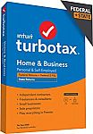 TurboTax Home & Business 2020 Tax Software (Federal & State) $65