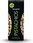 Wonderful Pistachios, Roasted and Salted, 16 Ounce Bag $4.99