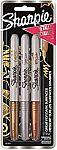 Sharpie Metallic PermSharpie Metallic Permanent Markers, 3 Countanent Markers, 3 Count $2.66