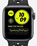 Apple Watch Nike SE (GPS) with Nike Sport Band (44mm) $232