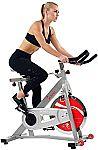 Sunny Health & Fitness SF-B901B Belt Drive Pro Indoor Cycling Bike $250