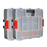 CRAFTSMAN 2-Pack 14-Compartment Plastic Small Parts Organizers $10 and more
